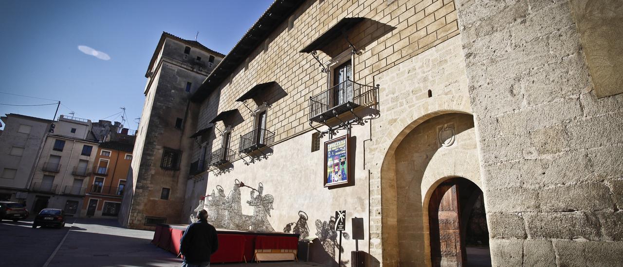 Palau Comtal de Cocentaina, donde se encuentra la Tourist Info.