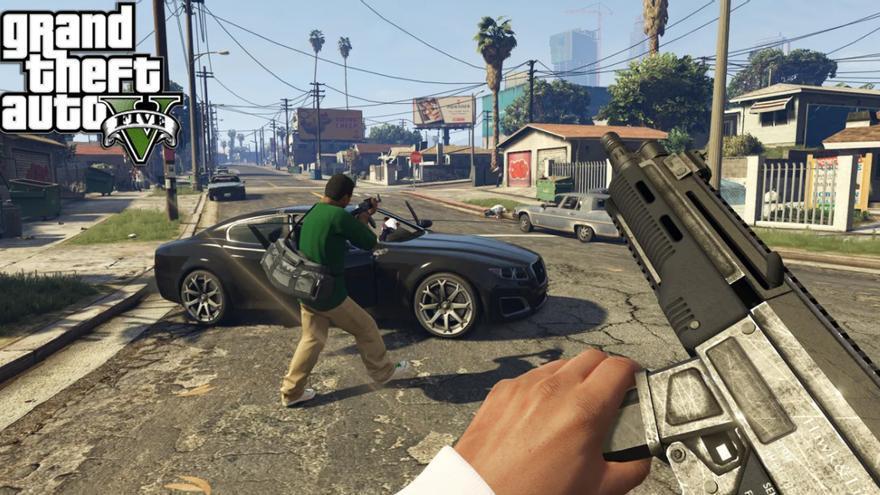 'Grand Theft Auto V' para PS4, el videojuego más vendido de abril en España