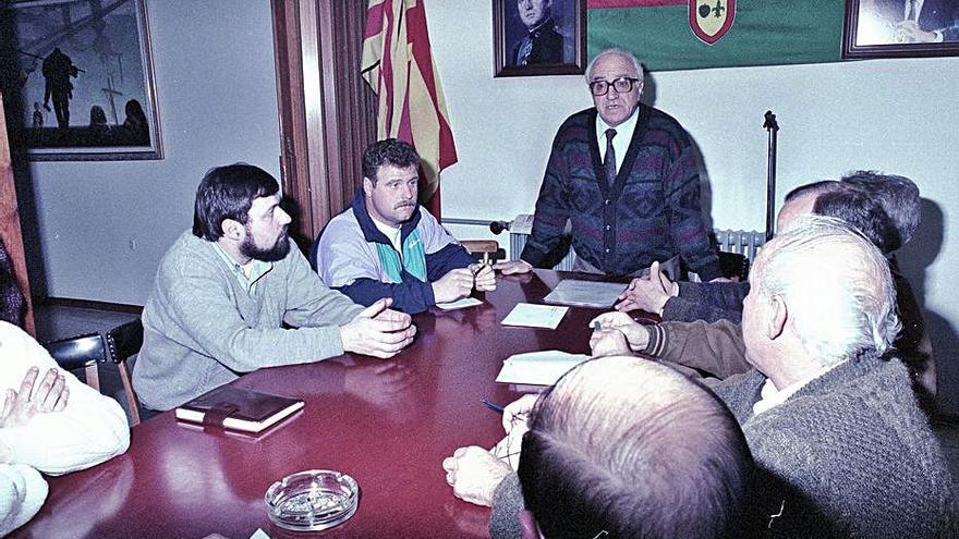 Mor als 94 anys Josep Casals, alcalde de Bagà del 1987 al 1995
