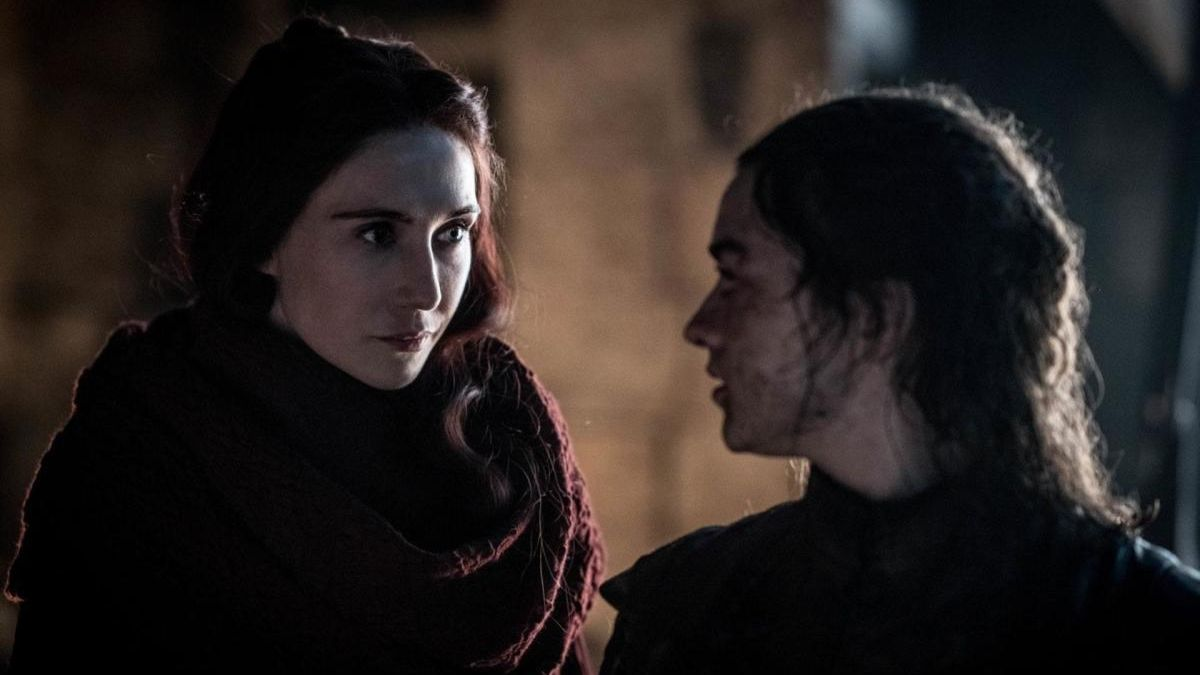 Carice van Houten, como Melissandre en 'Juego de Tronos'.