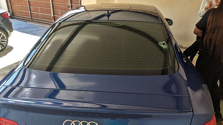 El guardia imputado por disparar a un coche en Marratxí dice que tiró al suelo