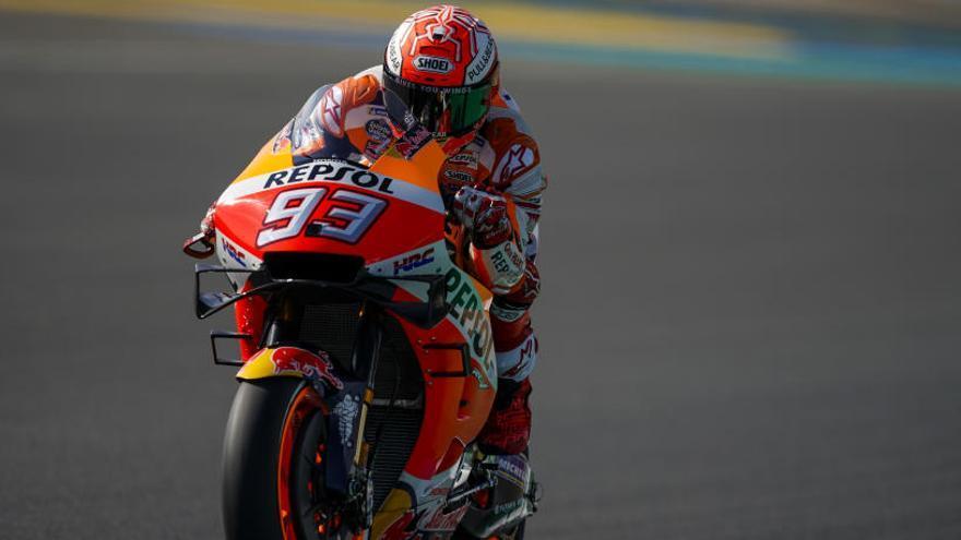Márquez remonta y saldrá desde la 'pole' en Le Mans