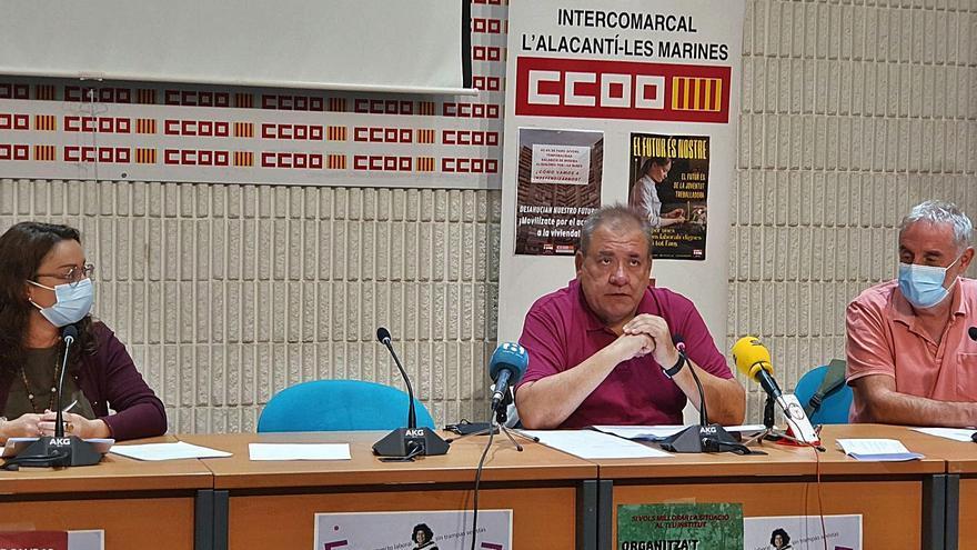 CC OO pide unidades de psiquiatría en las cárceles y más medios en Fontcalent