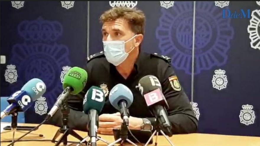 Faustino Nogales, jefe del Grupo II del Estupefacientes de la Policía Nacional