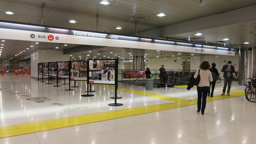 Arrestado por pintar grafitis en un vagón de tren de la Estación Intermodal y causar daños de 2.000 euros