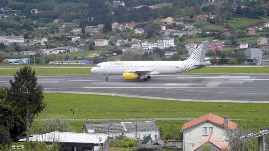Alvedro, el aeropuerto gallego que más crece en abril