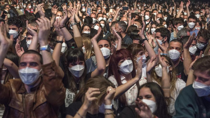 La Xunta baraja conciertos en julio con hasta 10.000 personas sentadas
