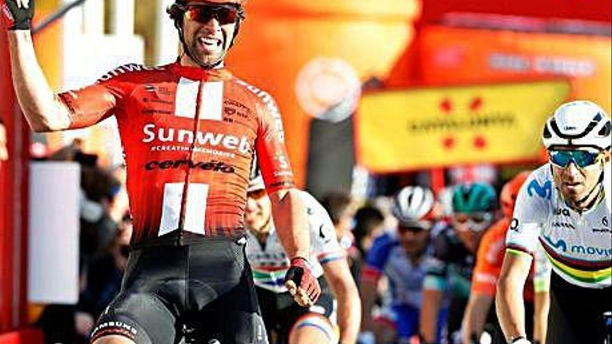 Valverde s'apropa al lideratge de la Volta i Froome queda sense opcions
