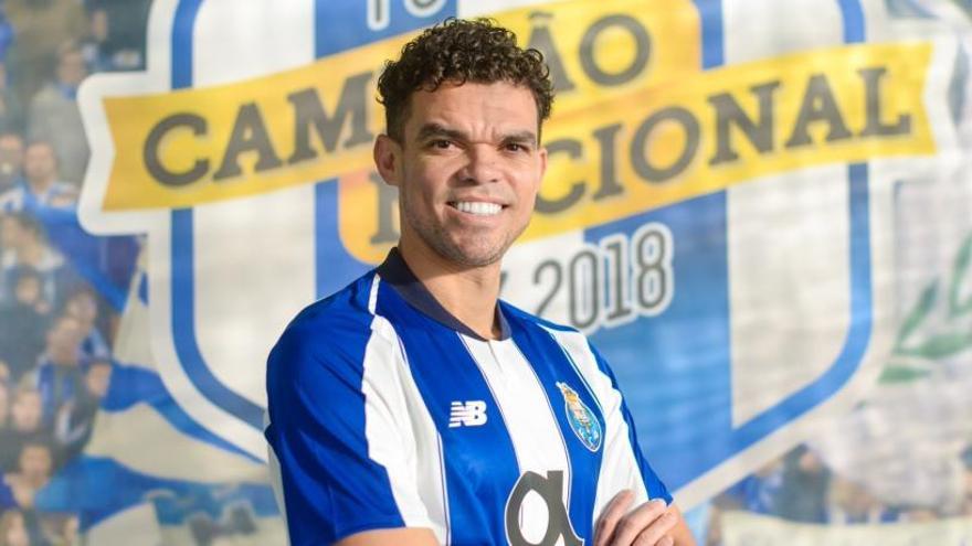 Pepe ficha por el Oporto