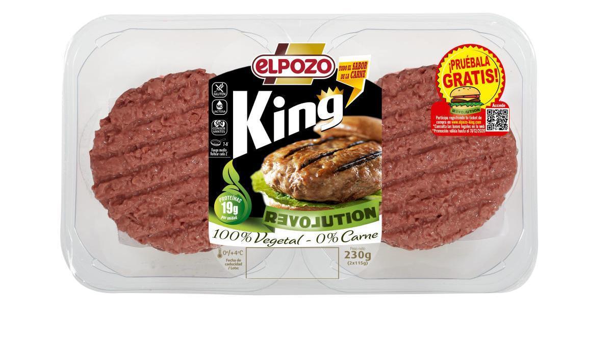 El Pozo Alimentación irrumpe en el mercado vegetal con 'ElPozo King Revolution'