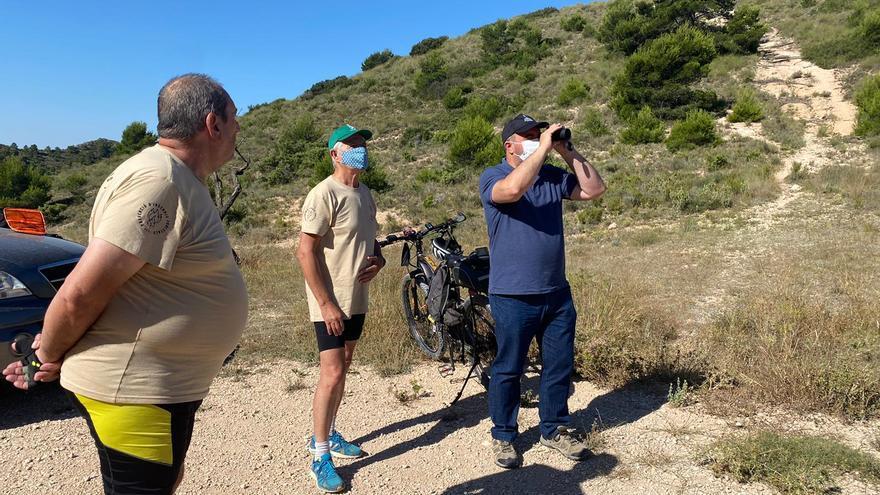 La sierra de Crevillent estará vigilada todo el verano por más de 100 voluntarios