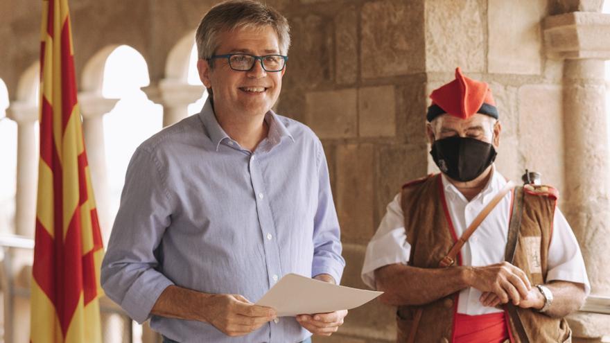 L'alcalde de Solsona s'acomiada en la seva última salutació de festa major