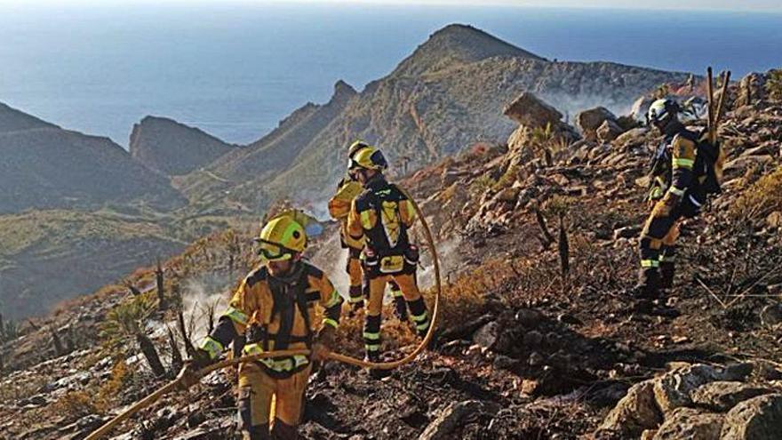 El Seprona investiga el fuego en es Coll de sa Gramola