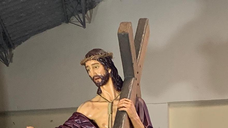 El renovado Jesús Nazareno de Antonio Pedrero vuelve al Museo de Semana Santa de Zamora