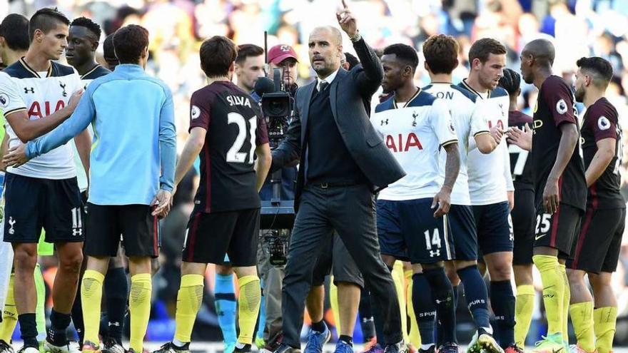 Primera derrota de Guardiola en el City