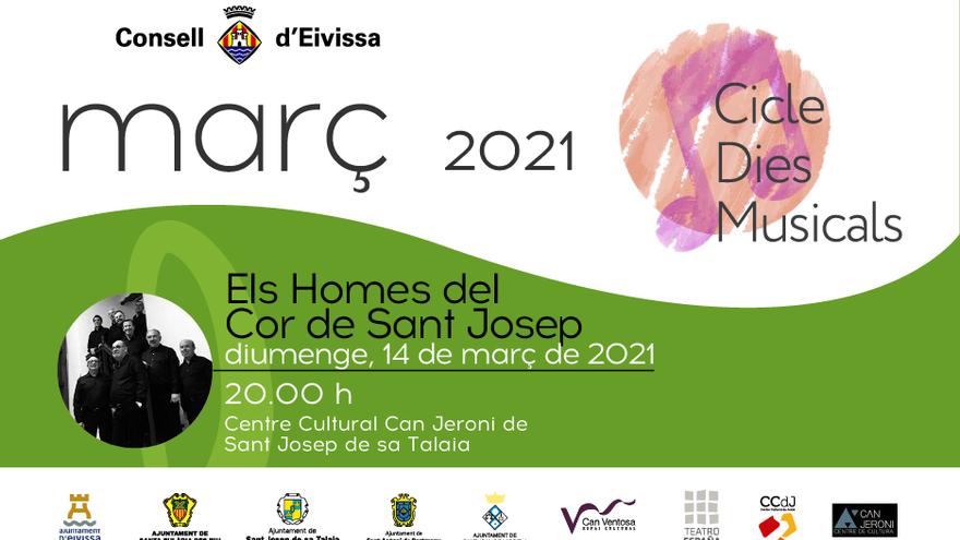 'Dies Musicals' Concierto de los hombres del Coro de Sant Josep