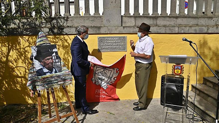 El parque ubicado tras la Casa de la Cultura llevará el nombre del ganadero Pedro Alemán