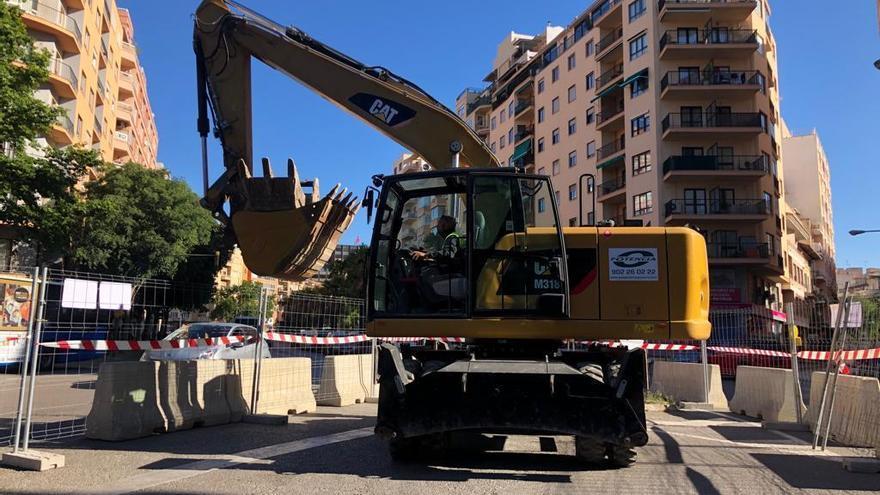 Cort inicia las obras del nuevo colector de la depuradora del Coll d'en Rabassa