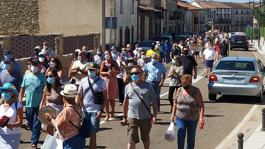 """Quinta protesta por la sanidad en Sayago: """"5 médicos para 43 pueblos"""""""