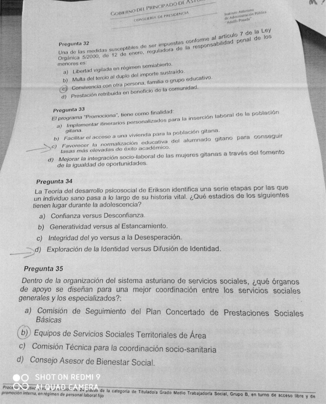 Examen Trabajo Social