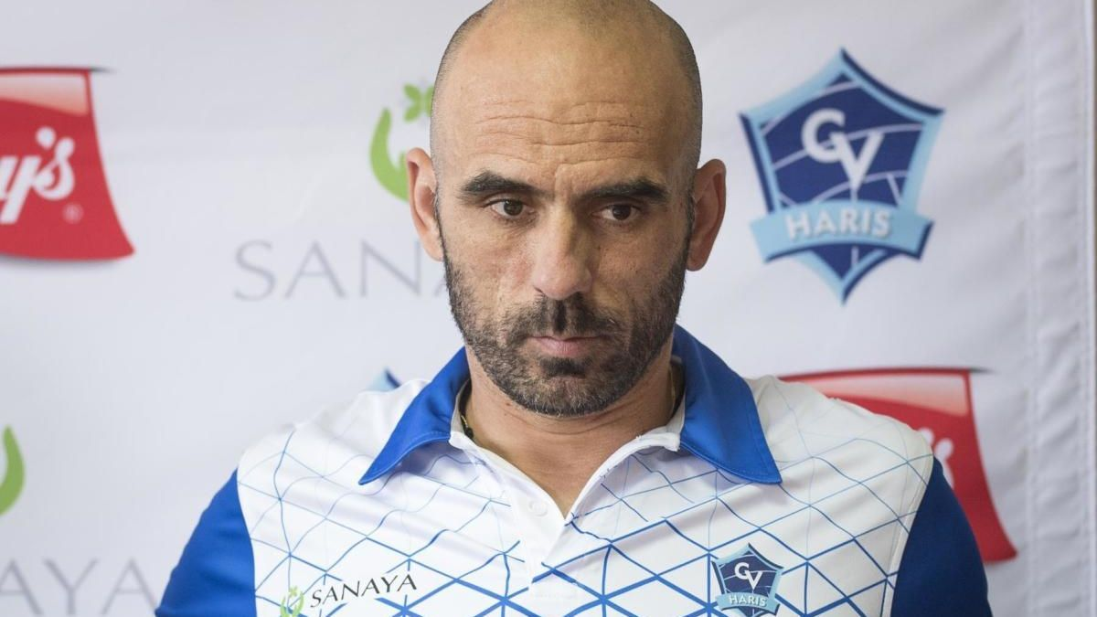 Juan Diego García, entrenador del Haris.