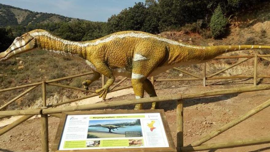 ¿Dónde se podrán visitar los restos fósiles del dinosaurio de Portell?
