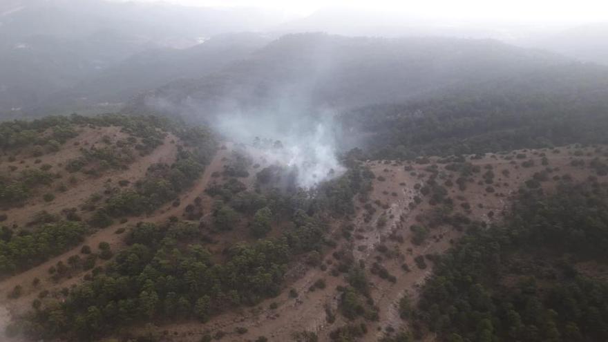Controlado el incendio de Villahermosa del río
