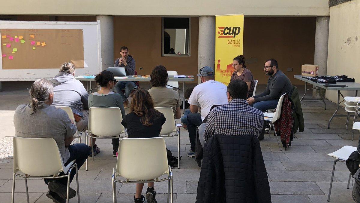 Assemblea de la CUP de Castelló d'Empúries
