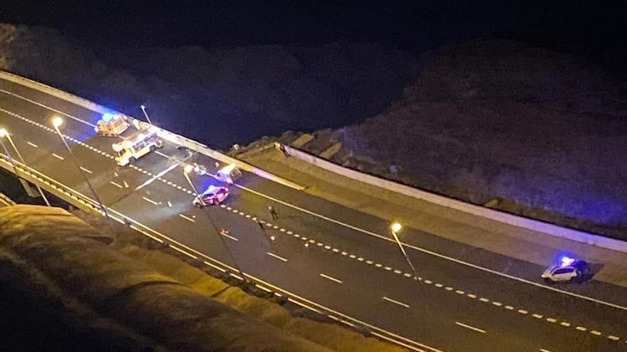 La joven fallecida en los puentes de Silva cayó desde cien metros de altura