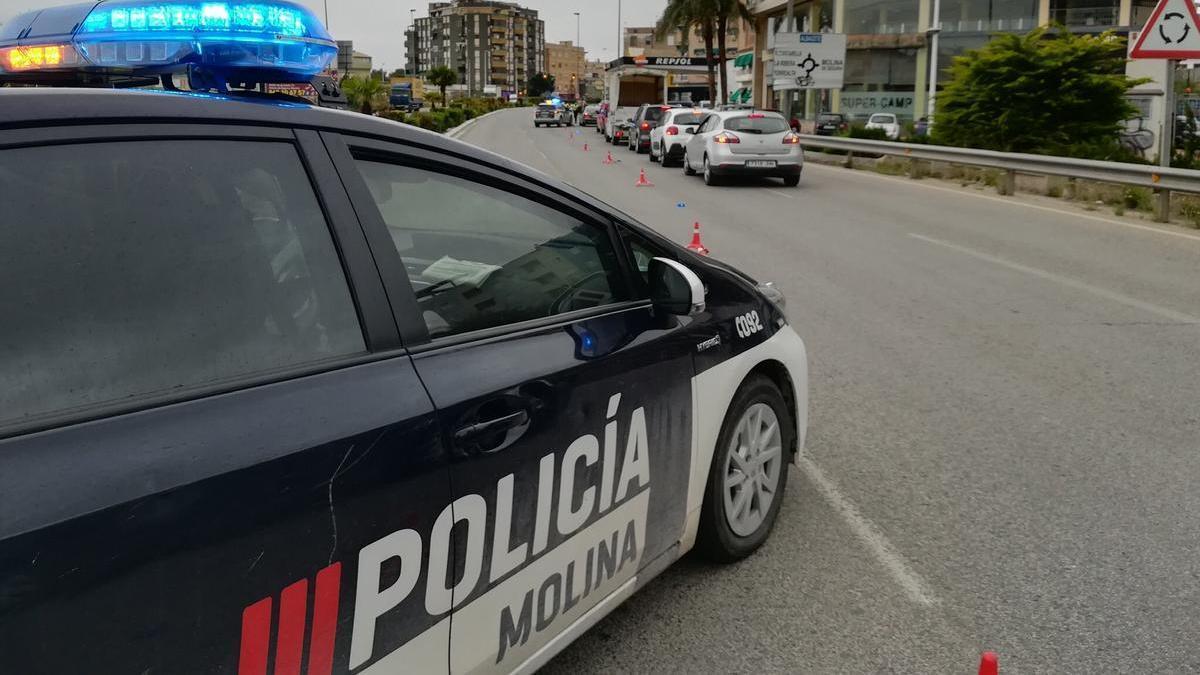 Vehículo de la Policía Local de Molina de Segura.