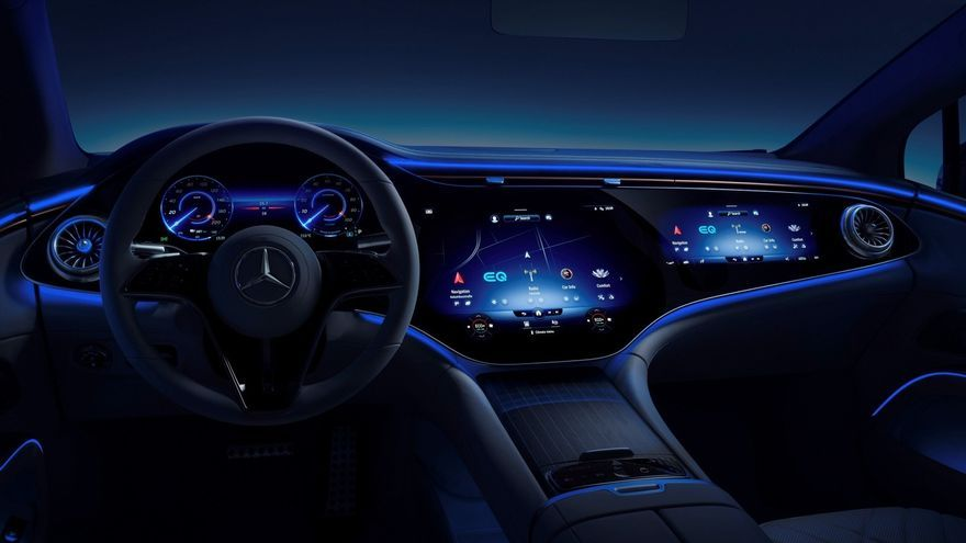 ¿Es la del Mercedes-Benz EQS la pantalla más grande del mundo?