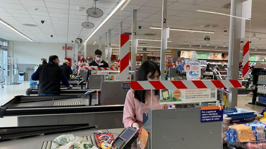 Supermercados abiertos hoy en València