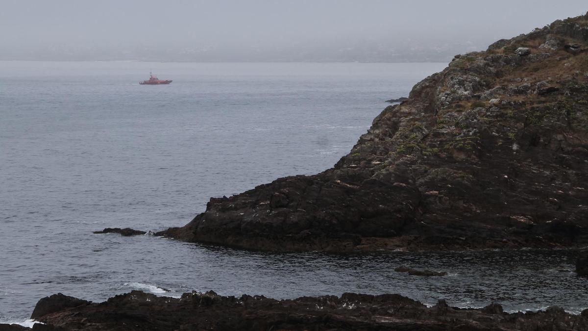 Punta de Monteferro, la zona donde se encontraba el deportista.