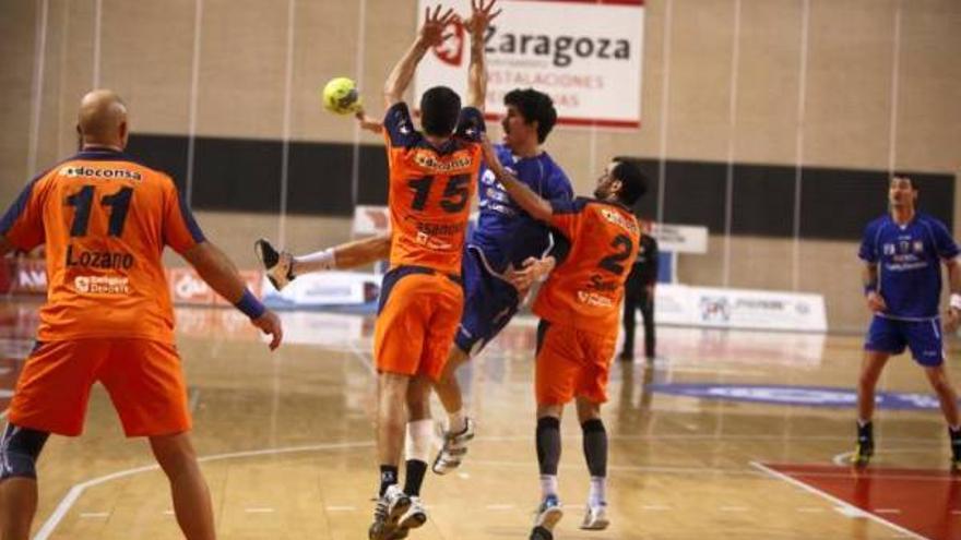 Fotogalería del Caja3 Aragón-BM Huesca