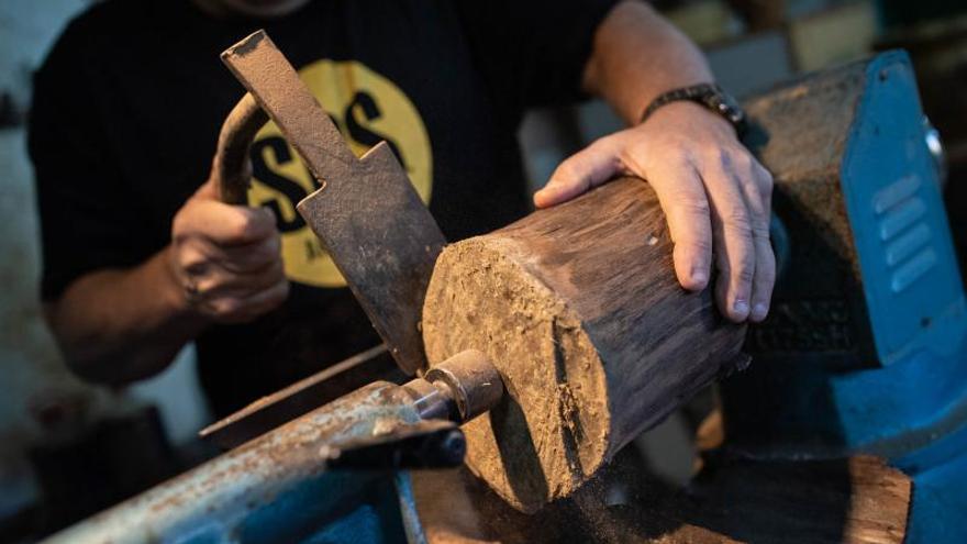 Los artesanos reciben más de 70.000 euros  de la línea insular de subvenciones