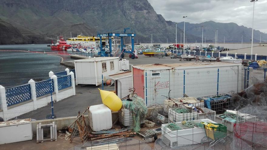 El rescate de los coches acerca la reapertura de la ruta Agaete-Tenerife