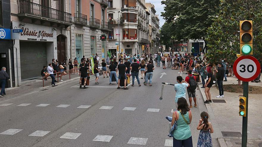La «zona més contaminada de Girona», sense cotxes