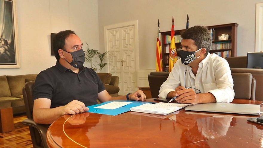 Mazón refuerza a Pérez Llorca en València para allanarse el camino hacia el Palau