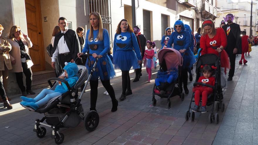 Los escolares celebran el Martes de Carnaval en Bullas