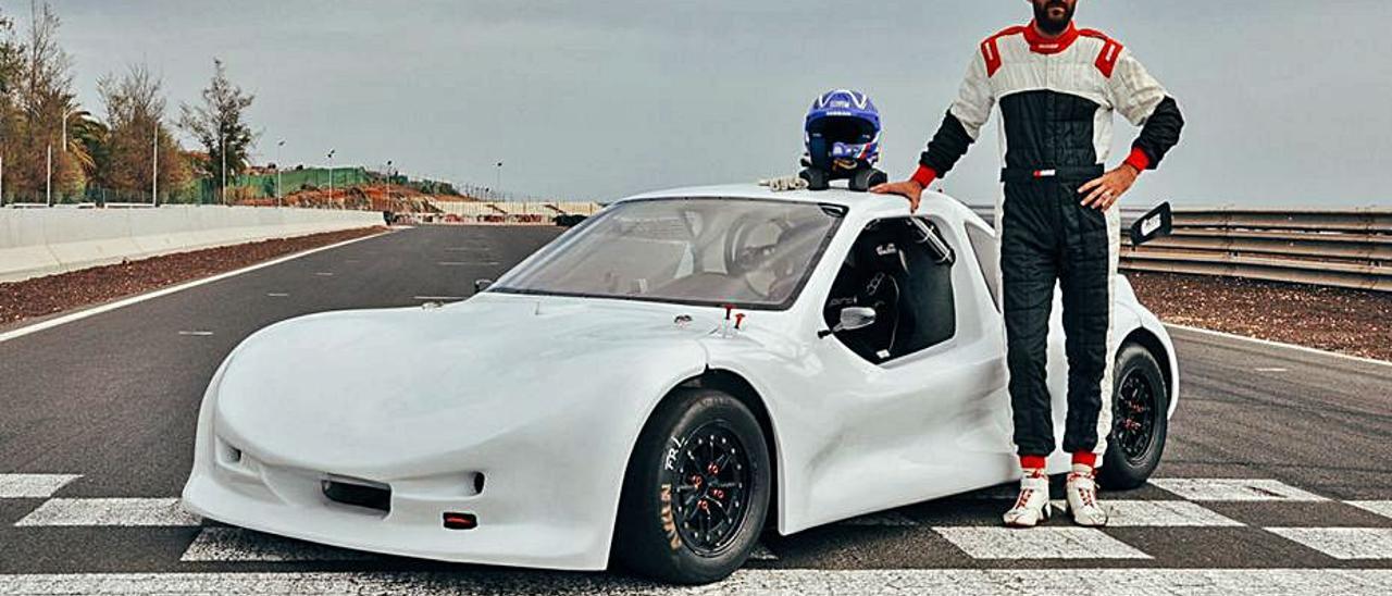 El piloto aruquense Borja Falcón se estrena a los mandos de una Speed Car