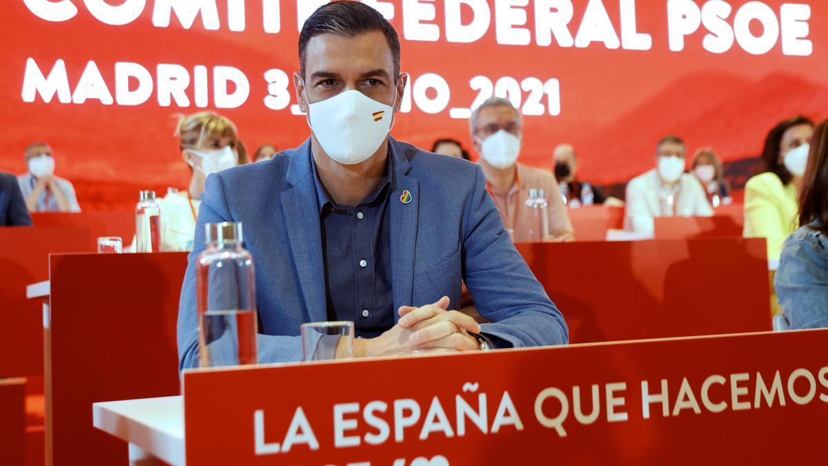 Pedro Sanchez preside el Comité Federal del PSOE