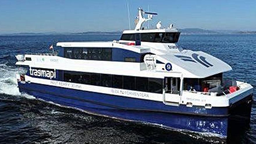 Nuevo buque para conectar las Pitiusas