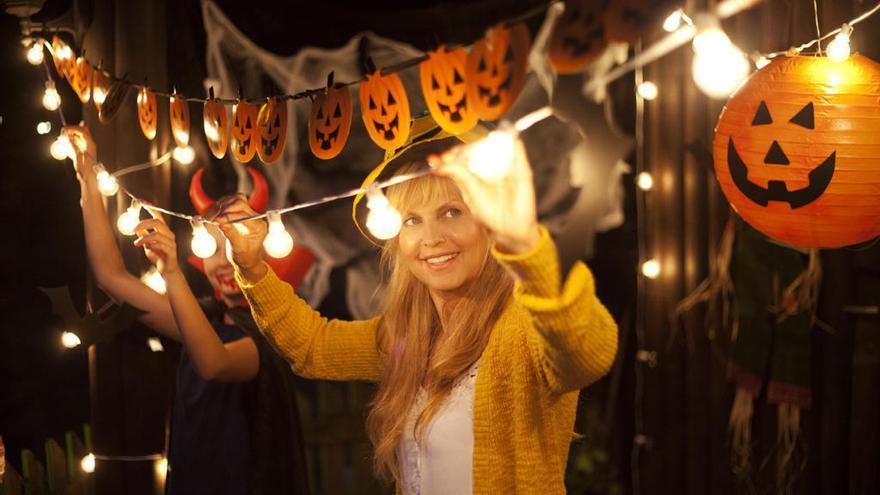 Cinco ideas de decoración para Halloween