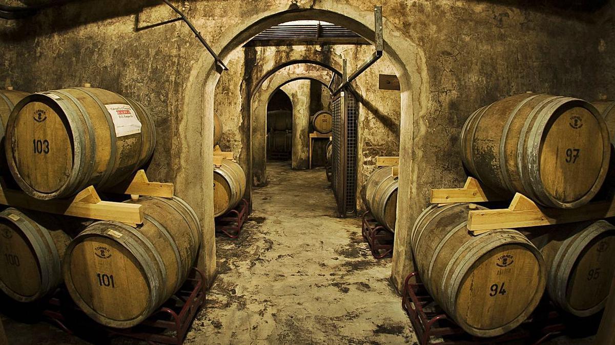 Les botes permeten reposar uns vins molt apreciats pels consumidors