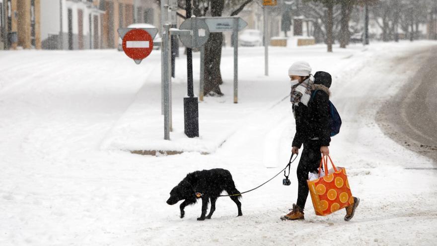Aviso de Emergencias para evitar excursiones a la nieve en la Comunitat Valenciana