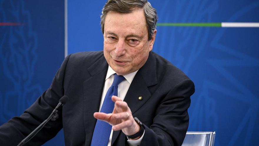Draghi ultima el plan de recuperación de Italia por valor de 221.500 millones de euros