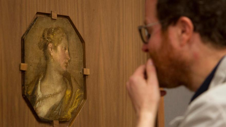 Un cuadro inédito de Velázquez sale a la luz en el Museo San Pío V