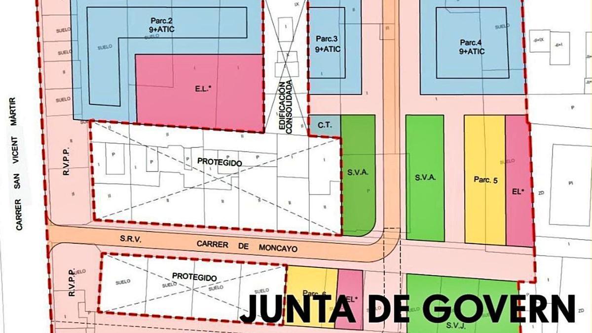 Representación virtual del denominado PAI Moncayo.   LEVANTE-EMV