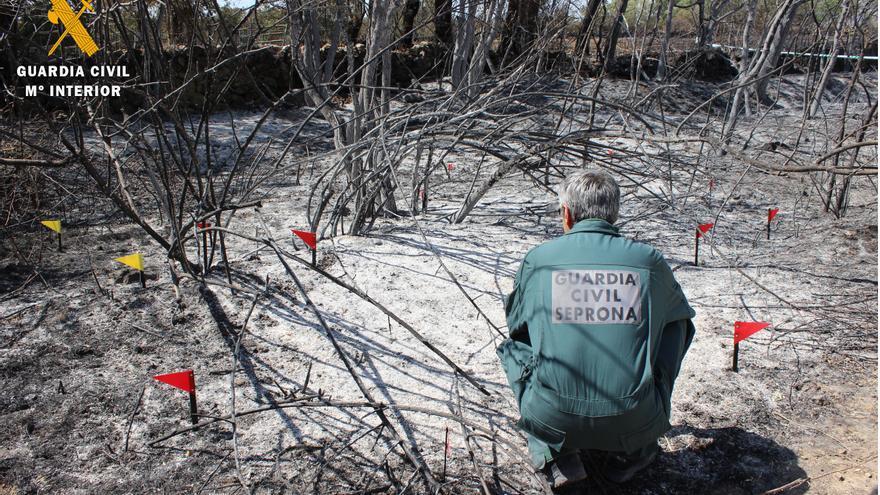 Investigado un operario por causar un incendio en El Espinar (Segovia) al usar una radial