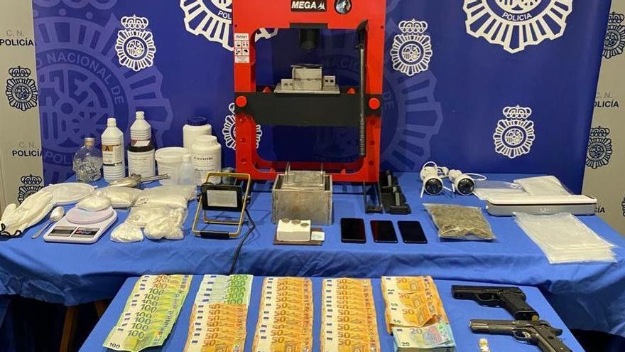 Beamte der Nationalpolizei zerschlagen Kokain-Labor an der Playa de Palma
